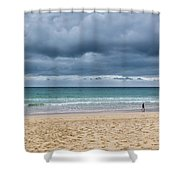 Manly Beach Shower Curtain