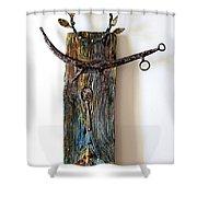 Manneken Pis Shower Curtain