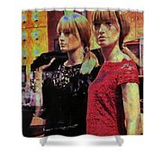 10496 Mannequin Series 07 - Let's Party Shower Curtain