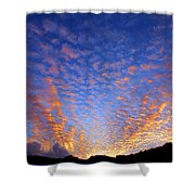 Manoa Valley Sunrise Shower Curtain