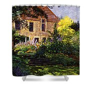 Manor House Steps Shower Curtain