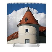 Manor House Tower Shower Curtain