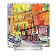 Manorola In Italy 04 Shower Curtain