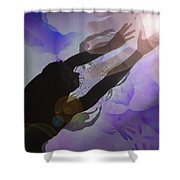 Mans Creation Shower Curtain