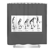 Mans Place In Nature Shower Curtain