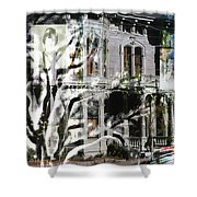 Mansion Of Obsession Shower Curtain