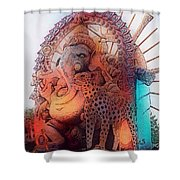 Many Blessings  Shower Curtain