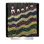 Many Paths Lead To The Top Shower Curtain