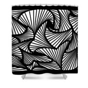 Many Roads Shower Curtain