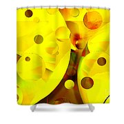Many Suns Shower Curtain