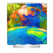 Many Worlds Shower Curtain