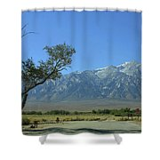 Manzanar 1 Shower Curtain