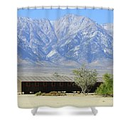 Manzanar A Blight On America 1 Shower Curtain