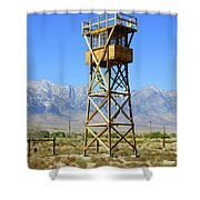 Manzanar A Blight On America 2 Shower Curtain