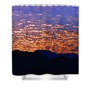 Manzanillo Sunset 3 Shower Curtain