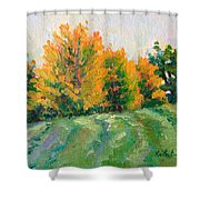 Maple Grove Shower Curtain