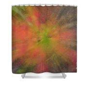 Maple Leaf Nebula Shower Curtain