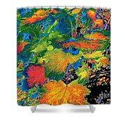 Maple Mania 3 Shower Curtain