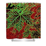 Maple Mania 7 Shower Curtain
