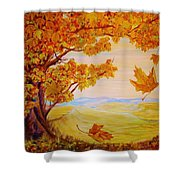 Maple One Fifty Shower Curtain