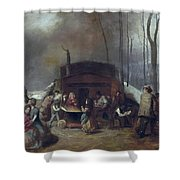 Maple Syrup, C1865 Shower Curtain