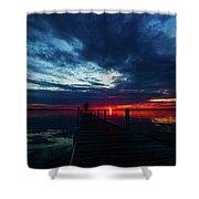 Maplehurst Dock Shower Curtain