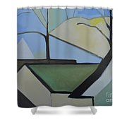Maplewood Shower Curtain