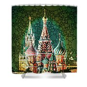 Mar-a-moscow Shower Curtain