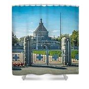 Marasesti - First World War Monument Shower Curtain