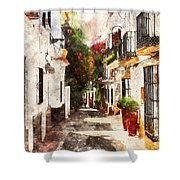 Marbella, Andalusia - 01 Shower Curtain