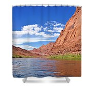 Marble Canyon Walls Shower Curtain