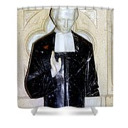 Marble Message Shower Curtain