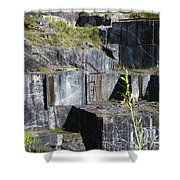 Marble Quarry  Shower Curtain