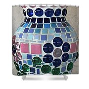 Marble Vase Shower Curtain