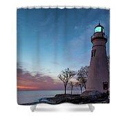 Marblehead Dawn Shower Curtain