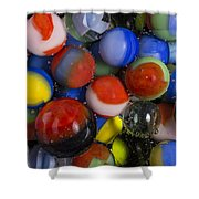 Marbles King Soda 1 Shower Curtain