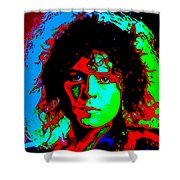 Marc Bolan Shower Curtain