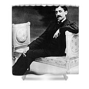Marcel Proust, French Author Shower Curtain