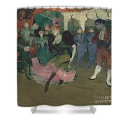 "Marcelle Lender Dancing The Bolero In ""chilp?ric"" Shower Curtain"