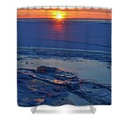March 16-2017 Sunrise Two  Shower Curtain