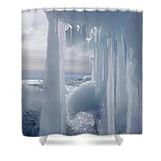 March Ice Shower Curtain