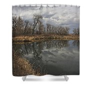 March In Boulder, Colorado Shower Curtain