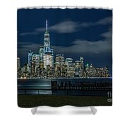 March In New York_2 Shower Curtain