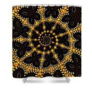 March Of The Butterflies Shower Curtain