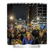 March On Shower Curtain