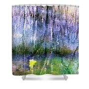 March Pond Shower Curtain