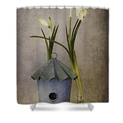 March Shower Curtain by Priska Wettstein