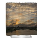 March Sunset Shower Curtain