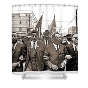 March Through Selma Shower Curtain
