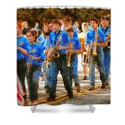 Marching Band - Junior Marching Band  Shower Curtain